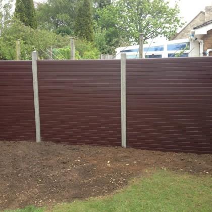 Composite plastic fencing panels Bristol
