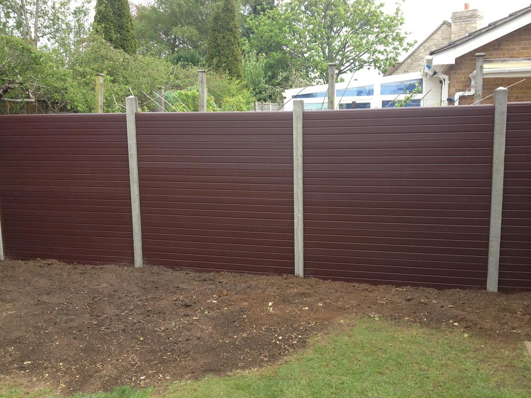 Garden fence installation lennon son