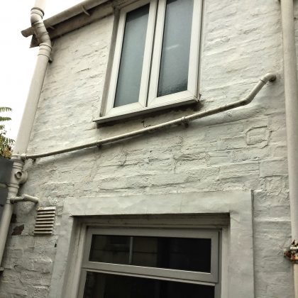 Bristol Extension Existing Exterior Wall