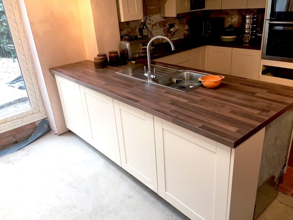 Extension Kingswood Bristol Kitchen Sink and Worktops