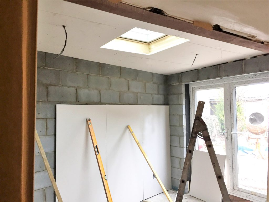 Velux Window And Patio Doors At New Extension Kingswood Bristol