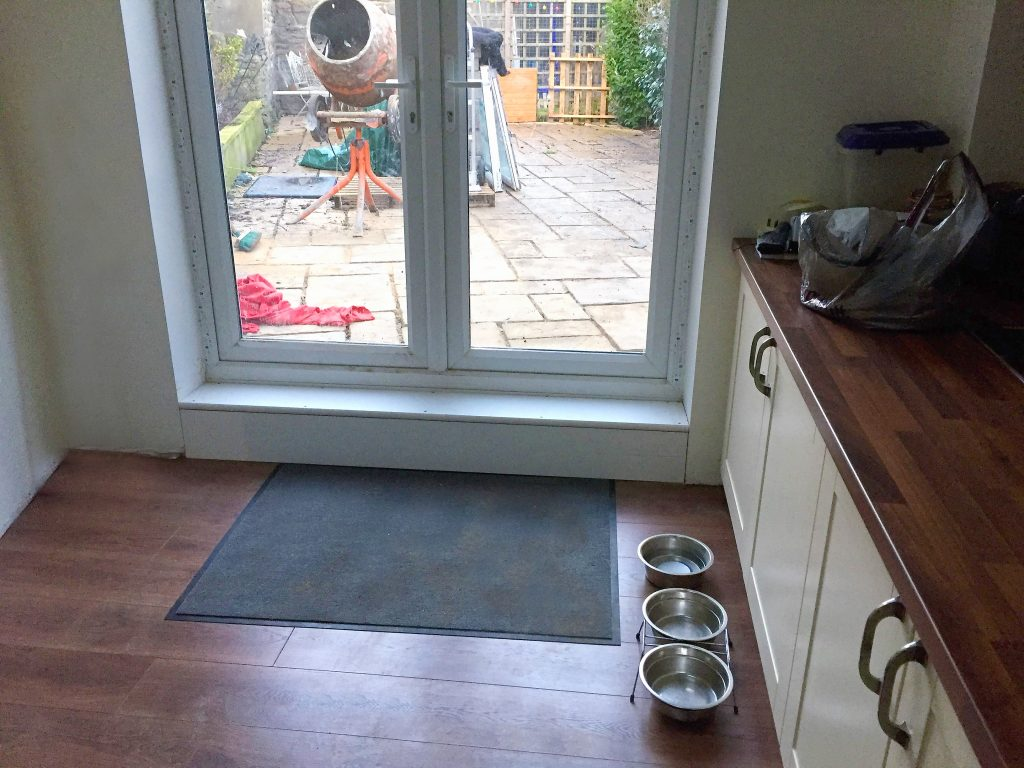 Patio Doors Fitted At Extension Kingswood Bristol